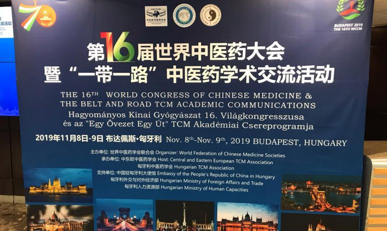 Hagyományos Kínai Gyógyászat 16. Világkongresszus