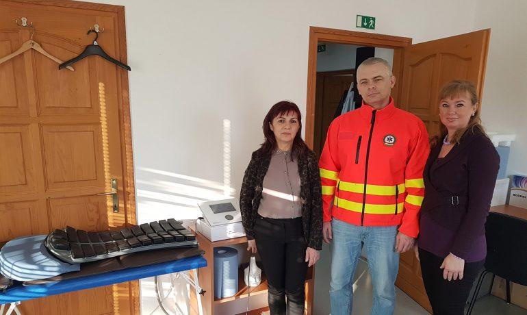Felajánlásunk az ajkai mentőállomás dolgozóinak