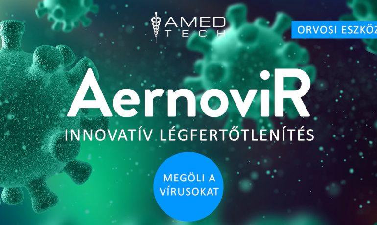 AernoviR: Levegő fertőtlenítés plazma technológiával